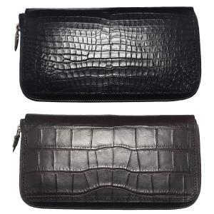 TADY&KING タディアンドキング goro's ゴローズ魂継承 ラウンドジップクロコウォレット 財布 メンズ 長財布 メンズ ブランド 本革 dress-r