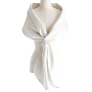 ten. ドレスストール(パールホワイト)|dress-stole