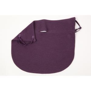 UVカットフェイスマスク 紫外線防止用ドレスマスク スリム ベーシック サンダイヤドライコット パープル|dressmask-drema