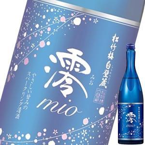 宝酒造松竹梅白壁蔵「澪(みお)」スパークリング清酒 750ml瓶|drikin