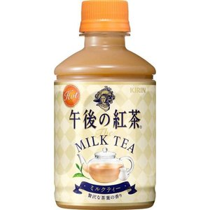 キリン 午後の紅茶 ミルクティー ホット PET 280ml×24本|drink-next