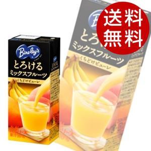アサヒ バヤリース とろけるミックスフルーツ 250ml×48本 『送料無料』※北海道・沖縄・離島を除く|drinkmarchais
