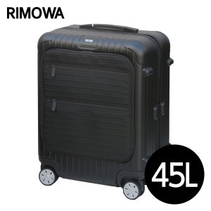 RIMOWA ボレロ キャビン 45L マットブラック 865.56.32.4 『送料無料』※北海道・沖縄・離島を除く|drinkmarchais