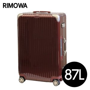 リモワ RIMOWA リンボ 87L カルモナレッド E-Tag LIMBO ELECTRONIC TAG マルチホイール スーツケース 882.73.34.5|drinkmarchais