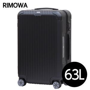リモワ RIMOWA サルサ 63L マットブラック E-Tag SALSA ELECTRONIC TAG マルチホイール 811.63.32.5 drinkmarchais