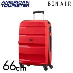 サムソナイト アメリカンツーリスター ボンエアー 66cm マグマレッド Bon Air 57.5L...