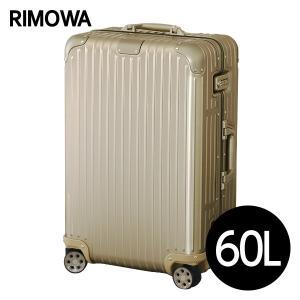『週末限定ポイント12倍』 リモワ RIMOWA オリジナル チェックインM 60L チタニウム ORIGINAL Check-In M スーツケース 925.63.03.4 drinkmarchais