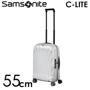 サムソナイト C-LITE シーライト スピナー 55cm オフホワイト Samsonite C-lite 122859-1627|drinkmarchais
