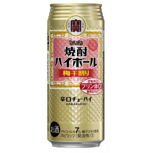 タカラ 焼酎ハイボール  梅干割り 500ml 1ケース(24本入)宝酒造株式会社 × 2ケース