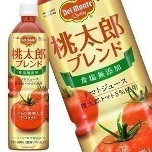 【6月1日出荷開始】 在庫処分 デルモンテ 食塩無添加トマト...