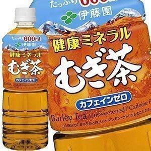 伊藤園 健康 ミネラルむぎ茶 麦茶 むぎちゃ 600ml PET × 24本 2ケース毎に送料がかか...