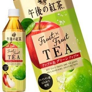 キリンビバレッジ 午後の紅茶 Fruit×Fruit TEA アップル&グリーンアップル 500ml 1セット(6本)の商品画像|ナビ