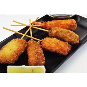 串揚げ セット 5種類 1セット ( 5本入 ) ニチレイ バラエティパック 串カツ 串かつ おかず業務用 [冷凍食品]の商品画像|ナビ