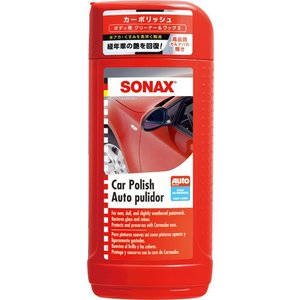 【10本セット販売】SONAX カー ポリッシュ 500ml ボディー用クリーナー&ワックス 送料無料 drive