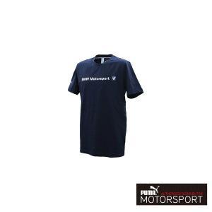 プーマモータースポーツ BMW MS ロゴTシャツ  スポーツウェア TEAM BLUE|drive