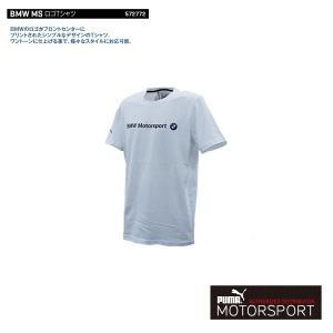 プーマモータースポーツ BMW MS ロゴTシャツ  スポーツウェア PUMA WHITE|drive