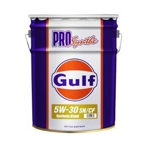 Gulf PRO SYNTHE(ガルフ プロシンセ) 5W-30 / 5W30 20L缶 ペール缶 Gulf ガルフオイル 5W30|drive