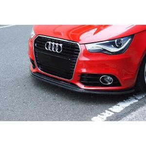 バランスイット Front Lip Spoiler Front Lip Spoiler フロントリップスポイラー カーボン A1 3ドア/A1 Sportback (8X) 2011-2014 S-line含む drive