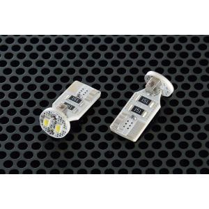 ポジションランプやルームランプ等のLEDバルブ【CL103】W10T T10バルブ用で先端に2素子を装着したT字型構造の先端照射タイプ【日本製】|drive