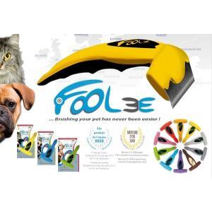 FooLee(フーリー)グルーミングブラシLサイズ ペット用ブラシ 【正規品】|drive