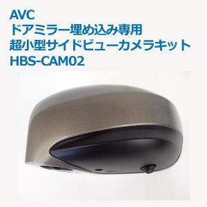 AVC ドアミラー埋め込み専用 超小型サイドビューカメラキット HBS-CAM02 drive