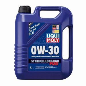 エンジンオイル リキモリ LIQUI MOLY/SYNTHOIL LONGTIME PLUS 0W−30 シンセティック ロングタイムプラス 5L缶|drive