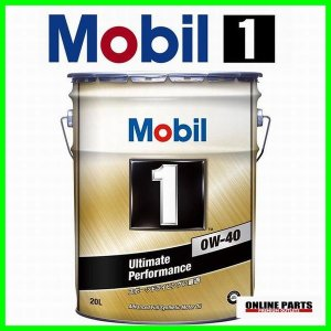 エンジンオイル ペール缶 20L モービル1 0W−40 SN スポーツ車 ターボ車 ヨーロッパ車 送料無料|drive