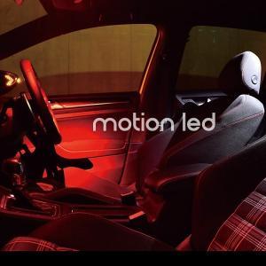 ルームランプ 基盤交換タイプ モーション機能搭載LED ゴルフ7 パサード トゥーラン 【ブルー/ホワイト】【レッド/ホワイト】フォルクスワーゲン drive