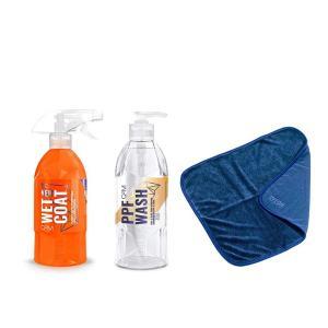 鉄粉除去しながら洗ってコーティング GYEON ジーオン オリジナルキット 3点セット|drive