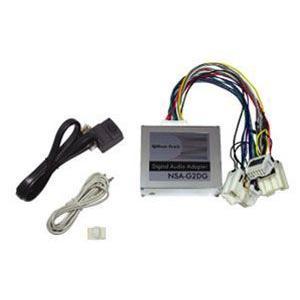 ビートソニック NSA-G2DG ニッサン純正オーディオにデジタルオーディオがダイレクトにつながる デジタルオーディオアダター drivemarket