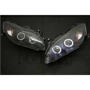 ホンダ S2000 後期用イカリングヘッドライト(ブラック)  HO1-810 HONDA S2000 drivemarket