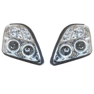 【水漏れ保証1年間付】スズキ スイフト ZC21S LEDリングヘッドライト SU1-805 SUZUKI SWIFT drivemarket