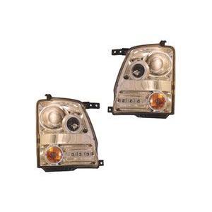【水漏れ保証1年間付】スズキ ワゴンR MH系共通(H15/9〜H20/8)用スポーツヘッドライト(メッキ) SU1-807 SUZUKI drivemarket