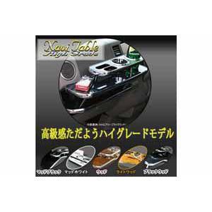 デルタ フロントテーブル ハイグレード バモス HM1.2系(前期)専用 マッドブラック ナビテーブル【取寄商品】 drivemarket