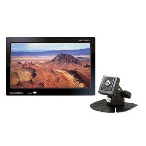 ドリームメーカー  DM-TV070W01L-F ワンセグチューナー内蔵7インチ液晶モニター フロント用スタンド付|drivemarket