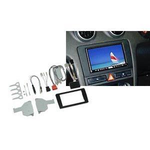GE-AU202 KANATECHS カナック アウディA3用 MMS DVDナビ付車用2DINキット【取寄商品】 drivemarket