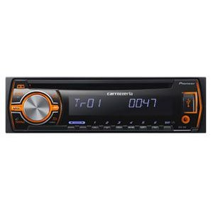 DEH-580 カロッツェリア CD/USBデッキ iPod/iPhone対応!!USB/AUX端子で外部オーディオ機器に接続可能♪  パイオニア|drivemarket