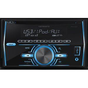 FH-580 PIONEER パイオニア CD/USB 2DINデッキ iPod/iPhone対応 2DINスペース活かした高い操作性|drivemarket