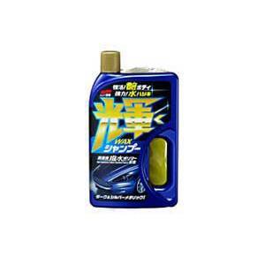シャンプー 輝くWAXシャンプー ダーク&シルバーメタリック車用 SOFT99 04278【取寄商品】|drivemarket