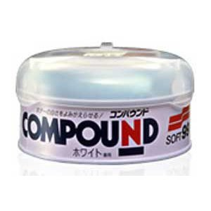 クリーナー ラビングコンパウンド 200g ホワイト SOFT99 09049【取寄商品】|drivemarket