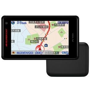 A710 2ピースセパレートタイプ GPS&レーダー探知機 OBDII接続対応 SUPER CAT ユピテル【取寄商品】