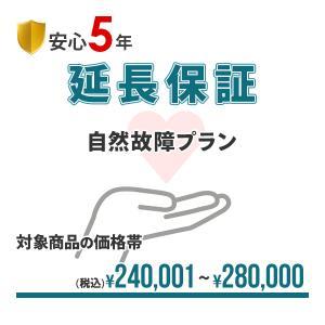 【安心5年間延長保証】簡単手続!!入って安心の延長保証♪自然故障を保証!!【商品代金¥240,001〜¥280,000】|drivemarket
