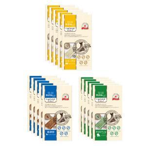 日本産 犬用おやつ いぬでんたる 無添加ピュア PureValue5 バラエティセット 150本入 (10本×3種×5袋)(コラーゲン/ほうれん草/鶏砂肝)|drjpet