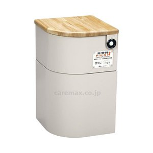 EV椅子(防災対応)・トイレ用品付天然木/690-611-5ベージュ(cm-341992)[1台]|drmart-1