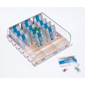 0-3716-03 くすり整理ボックス 195×220×82mm クスリセイリボックス NN306-018004 1[個]|drmart-2