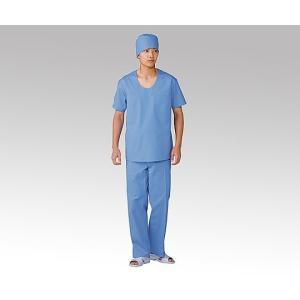 8-2211-02 タフクロス手術用下着  ズボン ブルーL シュジュツヨウシタギ2042ズボンブル-L NI053970 [枚]|drmart-2