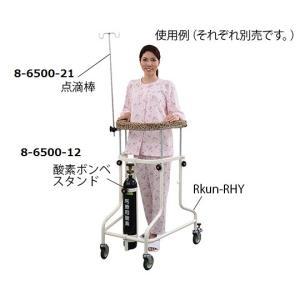 ナビス(アズワン)8-6500-12らくらくあるくん(R)(ネスティング歩行器)用酸素ボンベ架【個】(as1-8-6500-12)|drmart-2