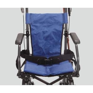 8-6593-12 ハンディーライトプラス(折畳み式介助車椅子)用 シートベルト[本](as1-8-6593-12)|drmart-2