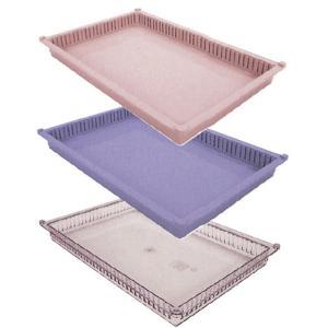 プラスチックトレー PT64-05 プラスチックトレー 透明(01-2547-00-03)【1枚単位】|drmart