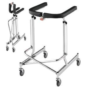歩行器アルコーDX型 100009(オリタタミシキ) ホコウキアルコーDXガタ(01-4105-00)【1台単位】|drmart